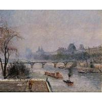 Wholesale Impressionist(3830) The_Louvre_6 from china suppliers