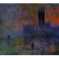 Wholesale Impressionist(3830) Houses_of_Parliament,_Fog_Effect_1 from china suppliers