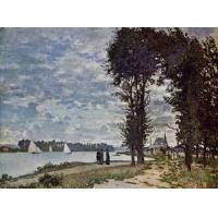 Wholesale Impressionist(3830) The_Banks_of_the_Seine_at_Argenteuil from china suppliers