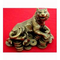 Wholesale Wooden Handicraft Woodcarving Fortune Tiger from china suppliers