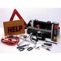 Wholesale Hand Tools 18 pcs roadside/auto emergency kit in a tote bag HK18 from china suppliers