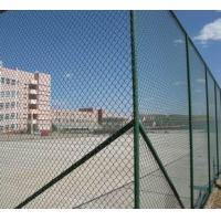 Wholesale Wire Mesh Fence Plastic Coated Chain Link Fence For Sports Court from china suppliers