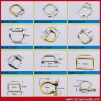 Buy cheap Gold A Color Metal D Ring In Bulk from wholesalers