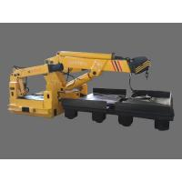 Central groove hydraulic lift truck (robot arms)