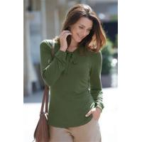 China notch neck top with tie (VTB) on sale