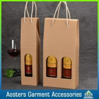 Handle High Quality Customized Paper Wine Box with Handle