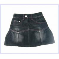 small girls denim skirt