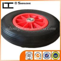 Wholesale Rubber Wheels 4.00-8 Customized PU Borrow Wheel from china suppliers