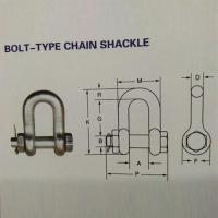 BOLT-TYPE CHAIN SHACKLE