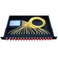 Wholesale 1*16 PLC splitter ABS CASE type with LC/PC connectors from china suppliers
