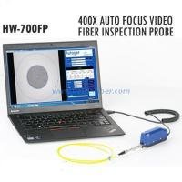 Wholesale Fiber optic Tools and accessories 400X Auto Focus Video Fiber Inspection Probe HW-700FP from china suppliers