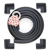 Wholesale Edge Armor 4 CORNER Protectors PLUS 2 METERS of Edge Guard Jet Black from china suppliers