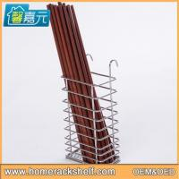 Wholesale Stainless Steel Square Chopsticks Basket Hanging Chopsticks Basket Tableware Shelf from china suppliers