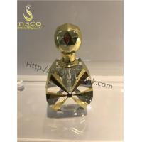 Wholesale Golden Color Luxurious Decorative Crystal Oil Bottles from china suppliers