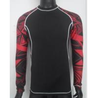 Wholesale sublimation long sleeves compression wear from china suppliers