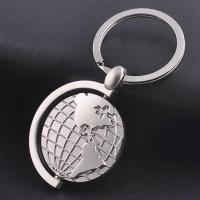 Wholesale Metal global map keychain 【Material】 from china suppliers