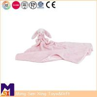 Wholesale Baby Comforter Bunny Baby Comforter Security Blanket from china suppliers