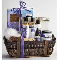 Wholesale Holidays Denarii Lavender Spa Gift Basket from china suppliers