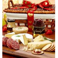 China Holidays Valentine Meat & Cheese Gift Basket on sale