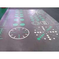 Wholesale Interlocking PVC Floor Tiles (Exercise Mats and Gym Flooring with Custom Pattern) from china suppliers