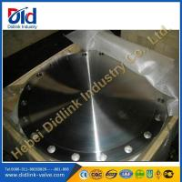 Wholesale DIN 2527 blind flanges suppliers, forged carbon steel flanges, high pressure flanges types from china suppliers