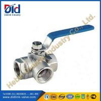 Wholesale 1000WOG ss 3 way ball valve steam, 6 threaded ball valve from china suppliers