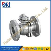 Wholesale ANSI CF8M 2 stainless steel ball valve flange, floating ball check valve design from china suppliers