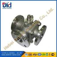 Wholesale 3 way stainless ball valve tap, diverter ball valve from china suppliers