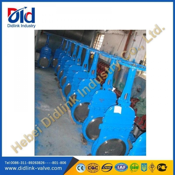 Quality WCB lockable knife gate valve Bi-directional, gate valve leaking 0 for sale