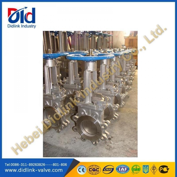 Quality Ansi stainless steel Lug parts of knife gate valve 2, gate control valve for sale