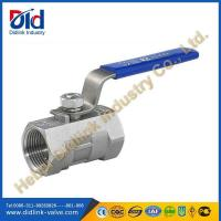 Wholesale Stainless Steel 1 piece ball valve water, 2 threaded ball valve from china suppliers