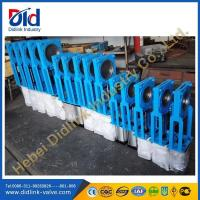 Wholesale Ductile iron Square roller knife gate valve 8 inch, pn16 knife gate valve from china suppliers