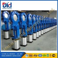 Wholesale hydraulic Knife gate valve drilling, 80mm gate valve from china suppliers