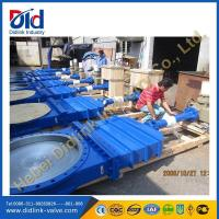 Ductile iron 16 inch knife gate valve nibco, resilient seal gate valve