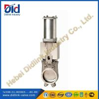 Wholesale Stainless Steel 4 in Knife Gate Valve Metal Seat, underground gate valve from china suppliers