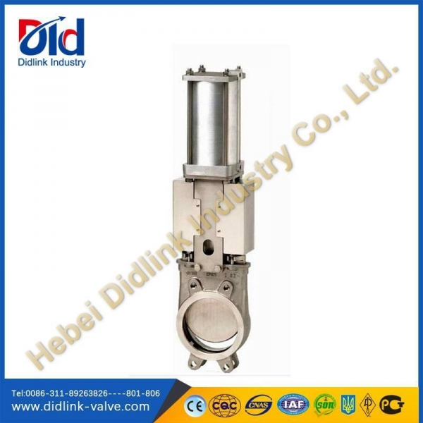 Quality Stainless Steel 4 in Knife Gate Valve Metal Seat, underground gate valve for sale