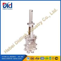 Quality Ansi stainless steel hydraulic velan knife gate valve catalogue, sewer gate valve for sale