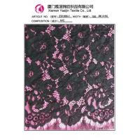 Wholesale Lace Fabric Black Eyelash Lace Fabric (E61888-1)for home textile and Garment Accessories from china suppliers