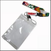 Wholesale Big PVC ID Card Holder Polyester Lanyard Production from Zhanhong from china suppliers