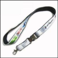 Wholesale Heat-transferred Satin Lanyard for Adverting Gift from china suppliers