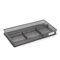 Mesh Collection Desk Drawer Organizer 4 Dividers