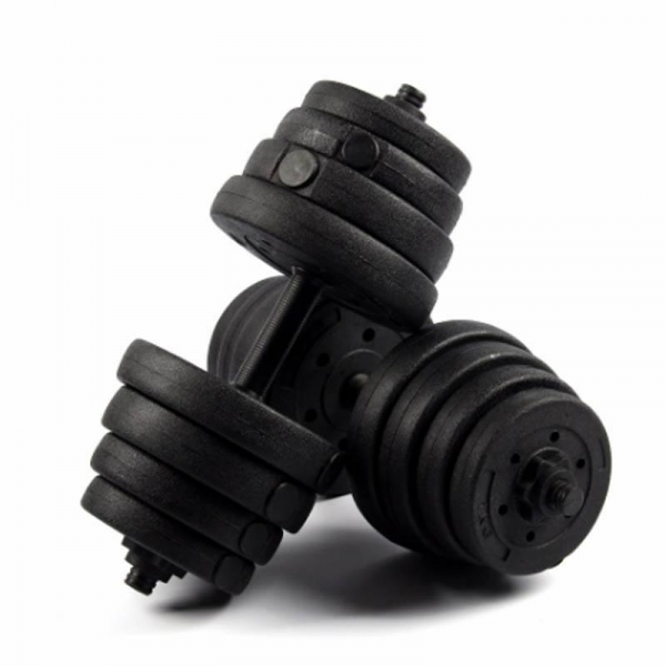 Quality Gifts, Sports & Toys Black Rubber Coated Dumbbell for sale