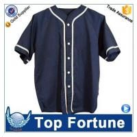 Buy cheap American fashion blank custom baseball jersey from wholesalers