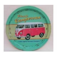 Wholesale Wiscombe Campervan Tray Retro Pink Green camper van from china suppliers