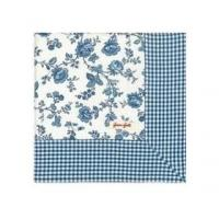 Wholesale Greengate Tablecloth Frida Indigo Blue Vintage Floral Square from china suppliers