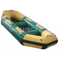 Wholesale 0.9mm PVC Fabric Inflatable Rafting Boat / River Rafting Boat With Durable Bottom from china suppliers