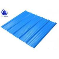 Wholesale PVC Blue Corrugated Plastic Roofing Tiles Polycarbonate Corrugated Carport Plastic Sheets from china suppliers