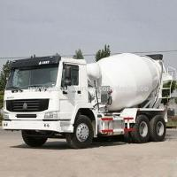 Energy saving 6m self-loading mobile concrete mixer truck, dimensions, with diesel oil