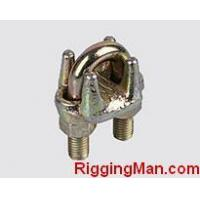 China WIRE ROPE CLIP TYPE A ,YELLOW ZINC PLATED on sale