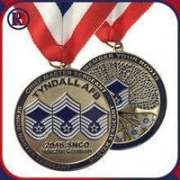 Wholesale Engraved Gold Air Force Iron Medals from china suppliers